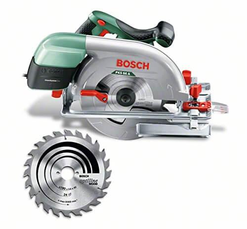 Scie circulaire Bosch «Expert» PKS 66 A pas chère