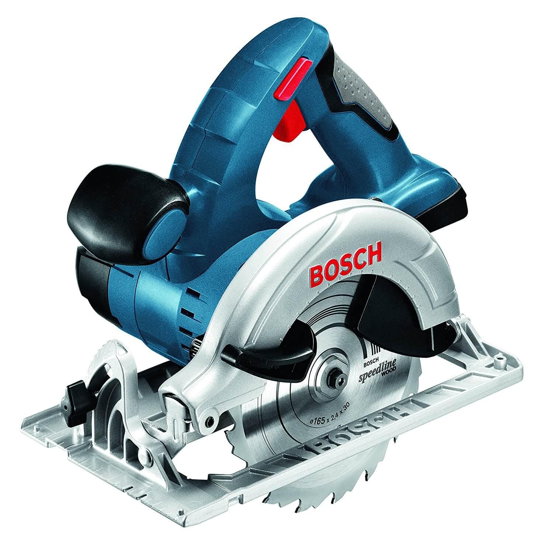 Scie circulaire Bosch pro sans fil gks 18 v-lin nu professional pas chère
