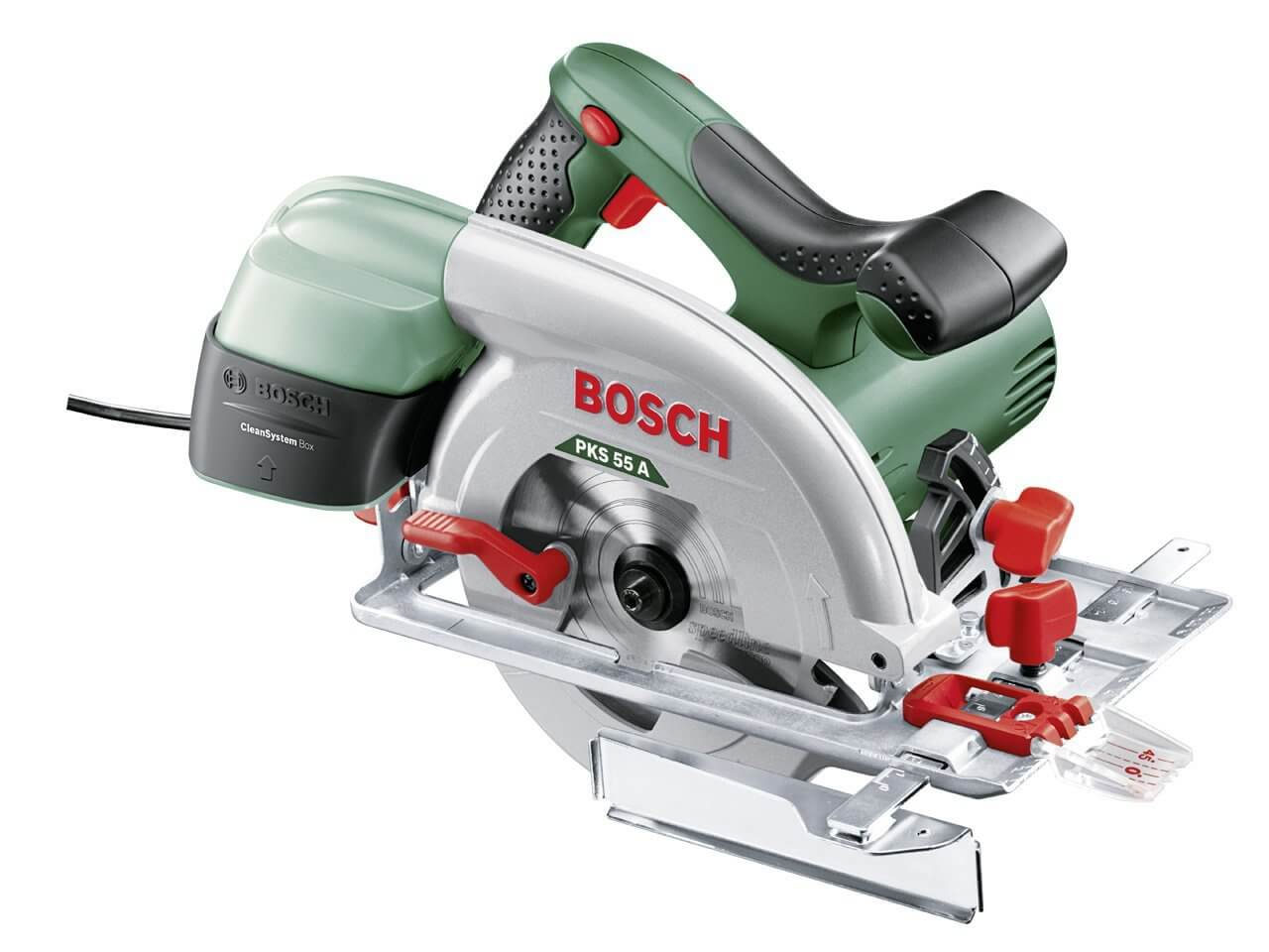 scie circulaire Bosch Universal Expert PKS 55 A pas chère