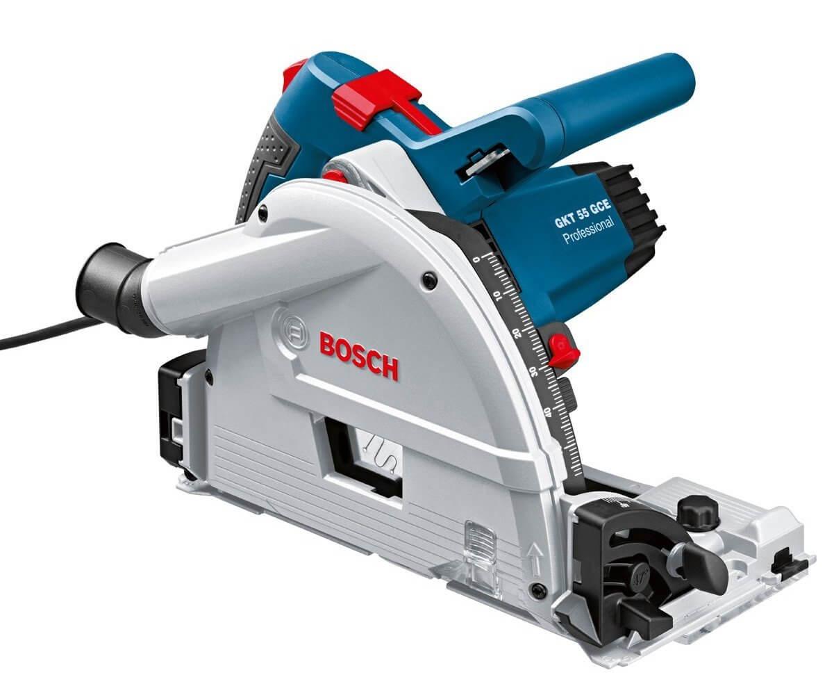 scie circulaire plongeante Bosch Professional GKT 55 GCE pas chère