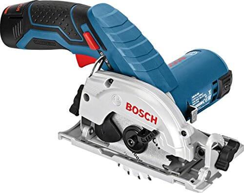 scie circulaire sans fil Bosch GKS 10.8 V-LI SOLO 06016 A1002 pas chère